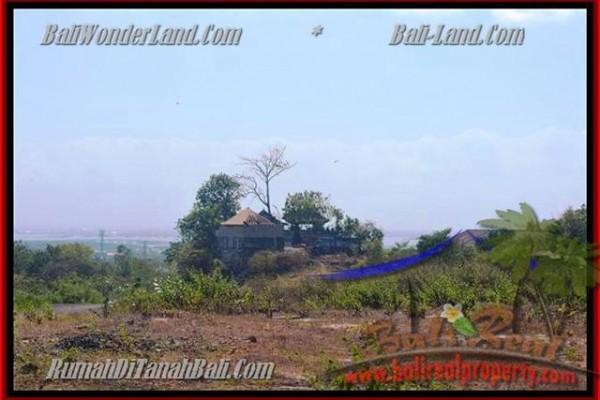 TANAH JUAL MURAH  JIMBARAN BALI 750 m2  View laut dan bandara