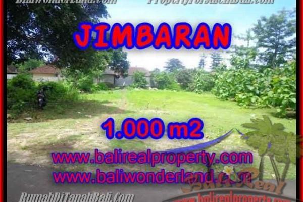 DIJUAL TANAH MURAH di JIMBARAN 1,000 m2 di Jimbaran four seasons