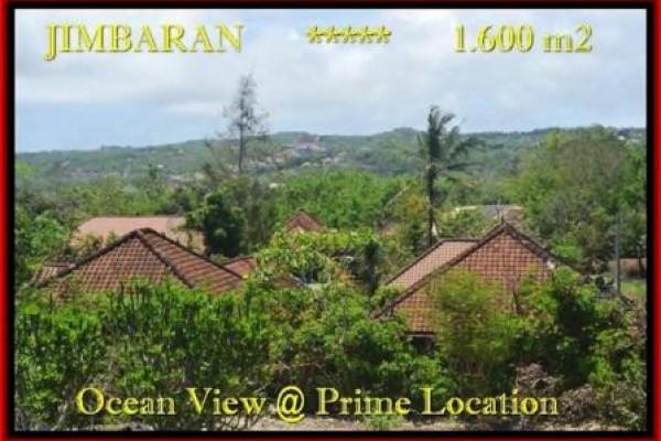 TANAH MURAH  di JIMBARAN BALI DIJUAL 1.600 m2  View laut , bukit dan hotel