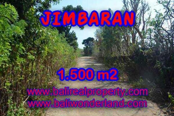 TANAH MURAH  di JIMBARAN BALI DIJUAL 1,500 m2  Lingkungan Perumahan dan Villa