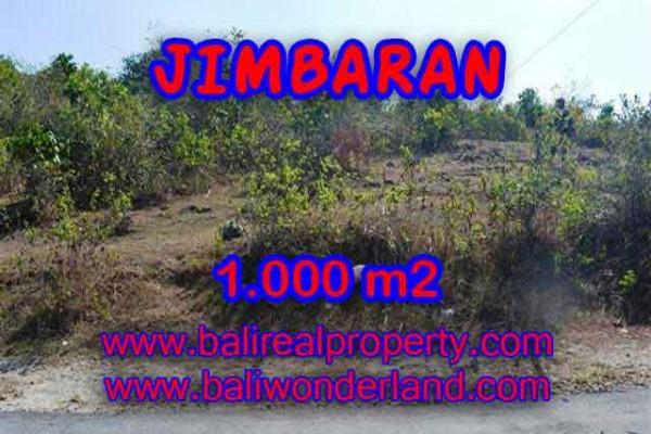 TANAH MURAH  di JIMBARAN BALI DIJUAL 1,000 m2  Lingkungan Perumahan dan Villa