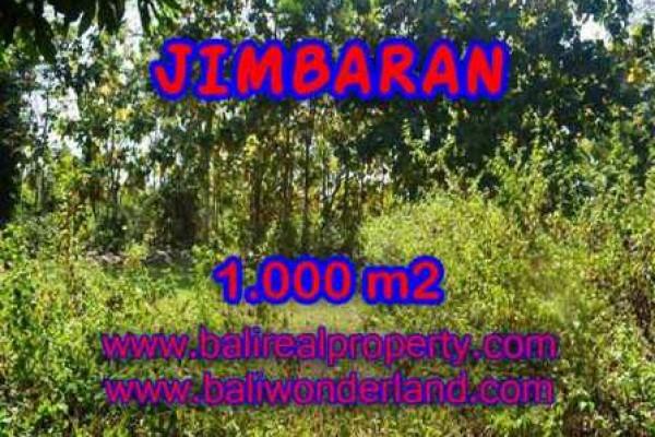 TANAH MURAH di JIMBARAN BALI DIJUAL 1,000 m2  Lingkungan Perumahan