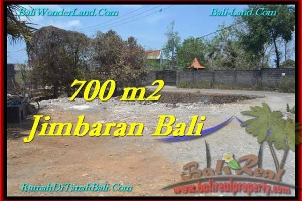 TANAH MURAH JUAL JIMBARAN 700 m2  Lingkungan Villa