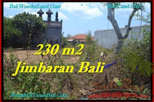 TANAH DIJUAL di JIMBARAN BALI 200 m2  Lingkungan Villa