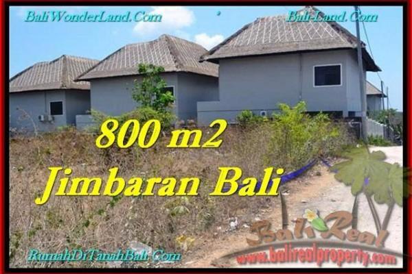 TANAH MURAH di JIMBARAN DIJUAL 800 m2 di Jimbaran Ungasan