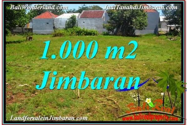 DIJUAL TANAH MURAH di JIMBARAN BALI Untuk INVESTASI TJJI108