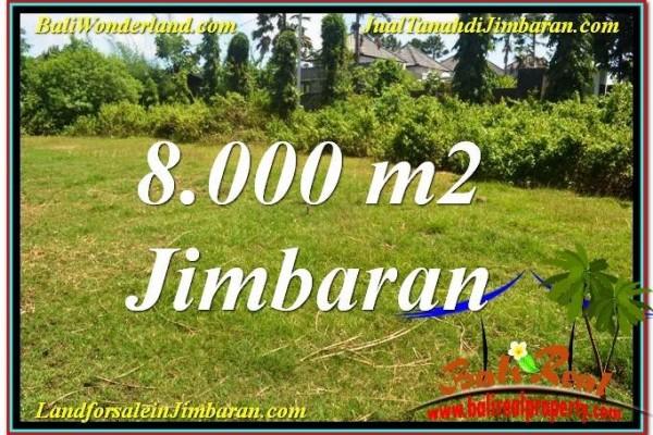 JUAL MURAH TANAH di JIMBARAN 80 Are Lingkungan Villa
