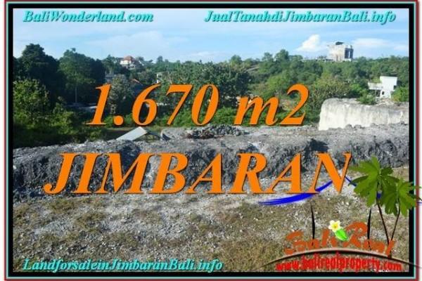 TANAH DIJUAL di JIMBARAN BALI 16.7 Are Lingkungan Villa