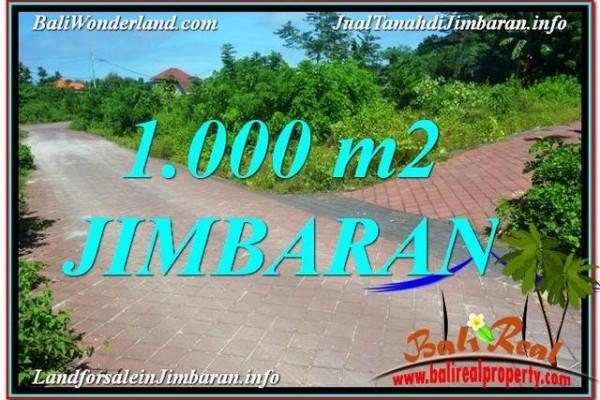 DIJUAL TANAH MURAH di JIMBARAN 1,000 m2 di Jimbaran Uluwatu