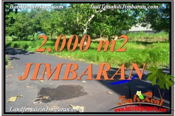DIJUAL TANAH MURAH di JIMBARAN 2,000 m2 di Jimbaran Uluwatu