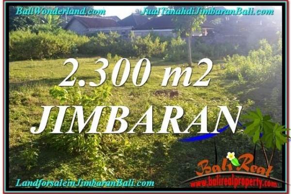 JUAL TANAH MURAH di JIMBARAN BALI 2,300 m2 di Jimbaran Ungasan