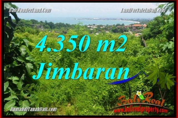 TANAH MURAH di JIMBARAN 43.5 Are View Laut
