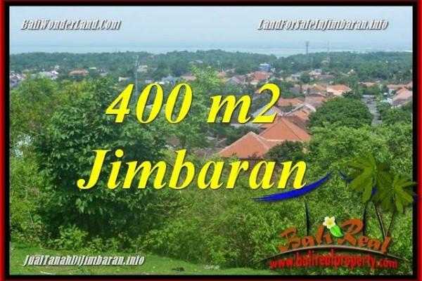JUAL TANAH di JIMBARAN 400 m2 di Jimbaran Ungasan