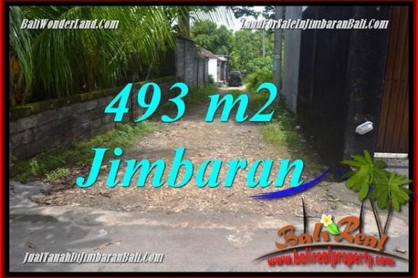 JUAL TANAH MURAH di JIMBARAN BALI 493 m2 Lingkungan Villa,View laut