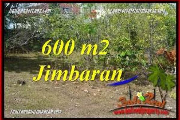 JUAL MURAH TANAH di JIMBARAN BALI 600 m2 LINGKUNGAN VILLA & HOTEL