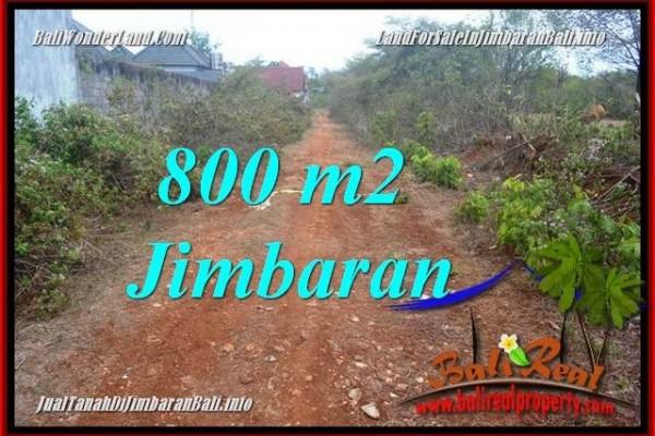 JUAL TANAH MURAH di JIMBARAN BALI 800 m2 di JIMBARAN UNGASAN
