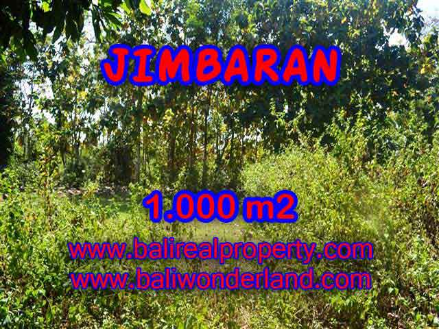 JUAL TANAH DI JIMBARAN RP 3.250.000 / M2 - TJJI071