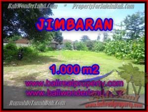 DIJUAL TANAH di JIMBARAN BALI Untuk INVESTASI TJJI063