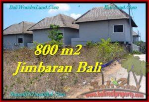 JUAL TANAH MURAH di JIMBARAN BALI 800 m2 Lingkungan Villa
