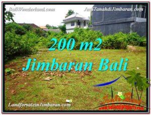 JUAL TANAH di JIMBARAN 200 m2 di Jimbaran Ungasan