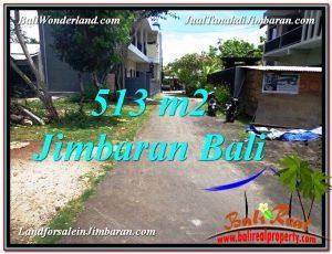 TANAH MURAH di JIMBARAN JUAL 513 m2 Lingkungan Elite