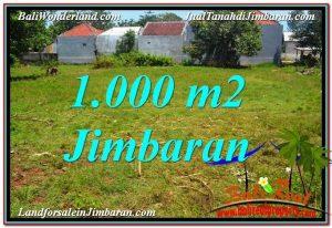 INVESTASI PROPERTI, JUAL MURAH TANAH di JIMBARAN TJJI108
