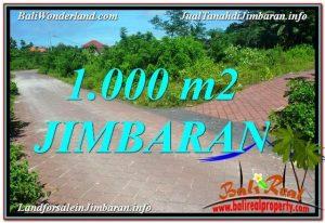 JUAL MURAH TANAH di JIMBARAN 1,000 m2 di Jimbaran Uluwatu