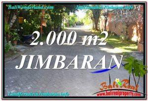TANAH DIJUAL di JIMBARAN BALI 2,000 m2 di Jimbaran Uluwatu