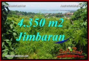 TANAH MURAH di JIMBARAN BALI DIJUAL 4,350 m2 View Laut