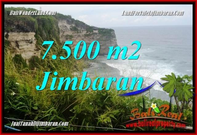 TANAH MURAH di JIMBARAN BALI DIJUAL 7,500 m2 di Jimbaran Uluwatu