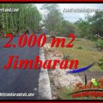 JUAL TANAH MURAH di JIMBARAN BALI 20 Are LINGKUNGAN VILLA
