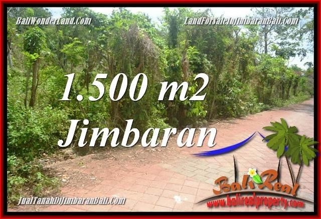 DIJUAL MURAH TANAH di JIMBARAN BALI 1,500 m2 di JIMBARAN ULUWATU